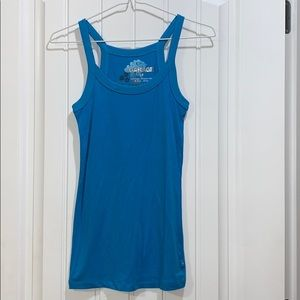 Garage blue tank top